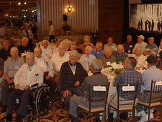 Patrick O'Keefe and Easy Company buddies