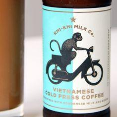 Khi-Khi Milk Co. Vietnamese Cold Press Coffee