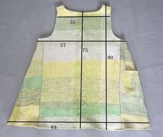 *手織り*春色グラディエーション チュニック