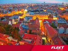FLEET RENT ZAGREB CROATIA  HOTEL SHERATONHOTEL WESTIN  Pogled na prekrasni Zagreb. Jeste li posjetili naše poslovnice u hotelu Sheraton i hotelu Westin?  http://www.fleet-rent.com/hr-HR/Naslovna.html