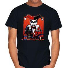 THE QUINN'S GAMBIT T-Shirt - Harley Quinn T-Shirt is $19 today at Ript!