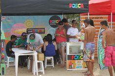 stand Posca - 15º Circuito Paulista Universitário de Surf