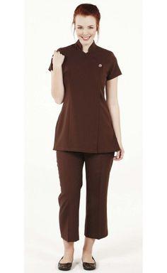 Ladies Simon Jersey One Button Tunic Beauty Hair Salon Spa Size 16 Size 18 6051d30fe