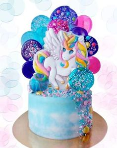 68 Ideas For Cake Vegan Birthday Kids Kids Birthday Cupcakes, Cookie Cake Birthday, Homemade Birthday Cakes, Birthday Kids, Bolo My Little Pony, Pinkie Pie Cake, Cake Decorating With Fondant, Cake Topper Tutorial, Cute Cookies