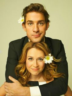 Pam and Jim Halpert