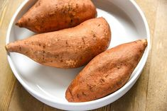 Our Air Fryer Baked Sweet Potato recipe results in a sweet potato baked to perfection! Fresh and delicious