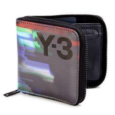Detritus Printed Zip-Around Wallet by Y-3