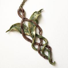Woodland Evenstar pendant by @tathariel! #tatharielcreations #evenstar #elvesofinstagram