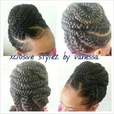 Goddess braids look amazing for corporate jobs and can protect natural hair especially if you are a busy bee. Description from hairstyles-q.blogspot.com. I searched for this on bing.com/images
