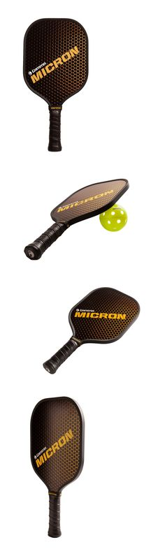Other Tennis and Racquet Sports 159135: New Gamma Micron Fiberglass Composite Pickleball Paddles Mid-Weight 8.1 Oz BUY IT NOW ONLY: $59.95