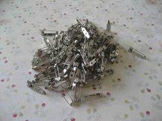 100 Bar #Pins/ Pins Back 1 (One) Inch (25mm) by @adorebynat #ArtFire