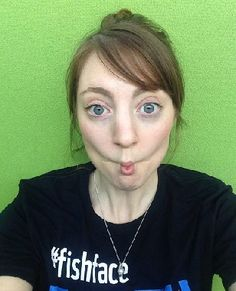 """3. Fish Face: The fish face exercise, also known as the """"smiling fish face"""" is an easy and one of the best facial"""