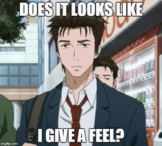 You sure seemed to give a feel in the first episode... What happens to you my poor shinichi *sob*