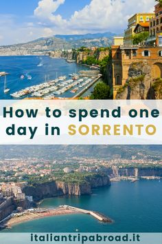 How to spend one day in Sorrento, Italy