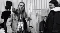 Which seems ironic as she's hardly quiet herself. | Cara Delevingne's Tattoo Collection Keeps On Growing