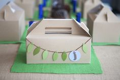 Safari or Jungle Party - Favor Boxes