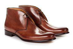 The Newman Chukka Italian Leather Boots | Paul Evans