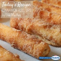 Our most popular member recipe: Easy Cinnamon Roll Ups with a creamy Philly Cream Cheese center
