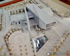 Concept Models Architecture, Architecture Concept Diagram, Library Architecture, Architecture Drawings, School Architecture, Sustainable Architecture, Architecture Design, Architect Jobs, Landscape Model