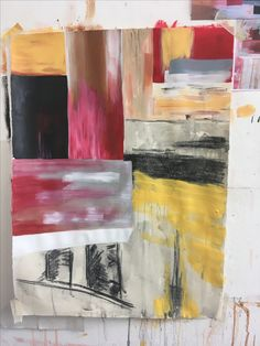 """""""Untitled 2"""" Megan Morris Acrylic and Charcoal"""