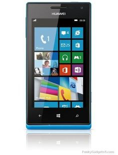 Huawei officially announced Ascend W1 at CES 2013, company's first WP8 device | Funky Gadgets9