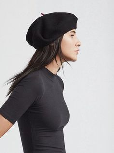 So what if you're not French? This Le Beret Francais mode beret is the perfect wool beret with a satin lining. Throw it on to make any of your cold weather outfits that much better. Made from 100% wool, satin lining.