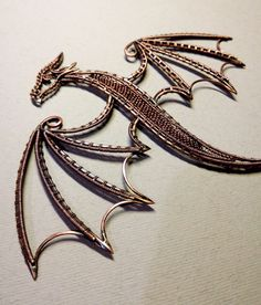 Items similar to Dragon handcrafted wire wrap necklace Copper dragon Statement necklace Fairy jewelry OOAK Dragon lovers Elvish jewelry Handcrafted jewelry on Etsy - Fairy Jewelry, Punk Jewelry, Fantasy Jewelry, Fantasy Wire, Wire Jewellery, Dragon Necklace, Dragon Jewelry, Dragons, Copper Dragon