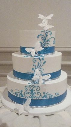 Elegant Butterfly Cake (1604) | Flickr - Photo Sharing!