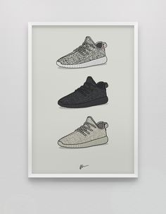 ★ NEW ★ Triple Yeezy 350 Boost