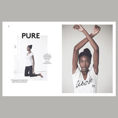 Le Yoga JOURNAL Paris No 4 - 2014. Pure - A visual story featuring Le Yoga Shop Paris´ autumn/winter collection. Photography by Kia Naddermier, Styling Annemarie Sheridan.