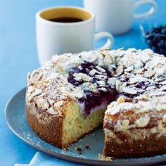 Blueberry-Cream Cheese Coffee Cake | MyRecipes.com