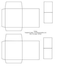Blank Printable Tea Bag Envelope Printable Templates Pinterest - Gift bag tags template