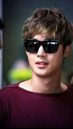 Kim Hyun Joong 김현중 ♡ Incheon airport 8/17 /2014 ♡ Kpop ♡ Kdrama ♡ sunglasses ♡