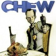 Chew by John Layman and Rob Guillory  Available in print or online