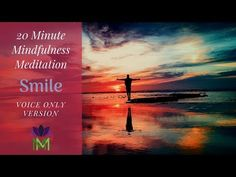 This is the voice only version of this meditation. Today's guided mindfulness meditation practice will guide your awareness to the present moment with a smil. Guided Mindfulness Meditation, Meditation Videos, Meditation Practices, Inner Peace, The Voice, Yoga, Smile, In This Moment, Yoga Sayings
