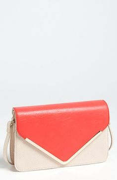 Comes in cool colors and looks more expensive than it is. (Izzy & Ali 'Giselle' Faux Leather Shoulder Bag available at #Nordstrom)