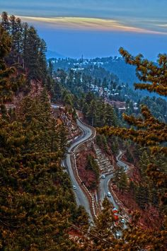 A beautiful landscape of Murree Pakistan by Usman Sharif, National Geographic.