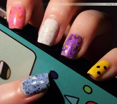 Mathematical by Two Days Slow - Adventure Time Nail Polish from Pretty & Polished