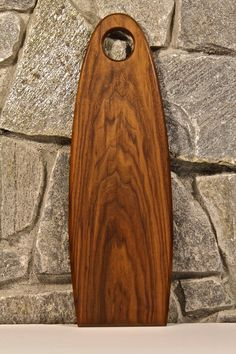 Walnut Cutting Board / Bread Board by Alchemy Wood Shop on Etsy $45