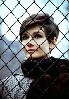 Audrey Hepburn photographed by Howell Conant