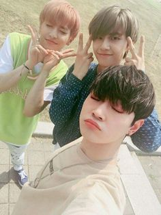 [FANCAFE] UP10TION Wei, Bitto & Xiao