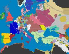 Map of Europe, 1500 C.E.