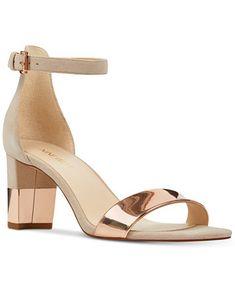 0085e698bba Image 1 of Nine West Pruce Sandals Dressy Sandals