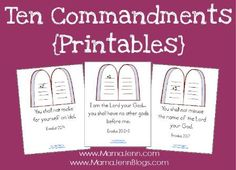 Mama Jenn: Bible Printables
