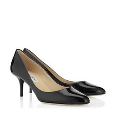 d6e2847ffa50 Jimmy Choo Irena in black patent · Designer PumpsWork ChicRound Toe ...