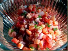 Lomi Lomi Salmon Recipe...one of the foods I miss from Hawaii!!!