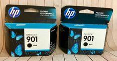 HP Officejet 901 Black Ink Cartridges Lot Of 2 | Computers/Tablets & Networking, Printers, Scanners & Supplies, Printer Ink, Toner & Paper | eBay!