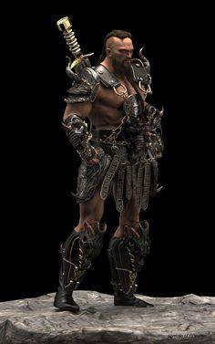 Barbarian Dreadlock on Behance