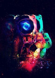 smoking smoke dreams colors astronauts - Buscar con Google