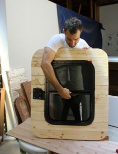 How To Build A Teardrop Trailer Walls And Doors